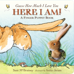 Guess how much i love you here i am! a finger pupper book square